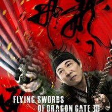 La locandina di The Flying Swords of Dragon Gate