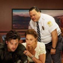 Patrick Dempsey e Ashley Judd (al centro) ne Le regole della truffa