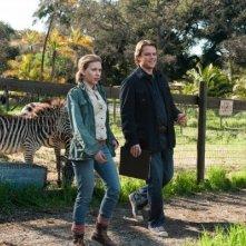 Scarlett Johansson e Matt Damon in un'immagine di We Bought a Zoo