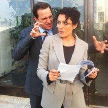 Una prima foto di Lisa Edelstein nella stagione 3 di The Good Wife