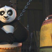 Kung Fu Panda, Po alle prese con gli allenamenti