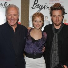 Ewan McGregor, Melanie Laurent e Christopher Plummer alla premiere di Beginners