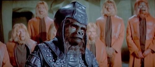 Un Minaccioso Scimmione Ne L Altra Faccia Del Pianeta Delle Scimmie 212313