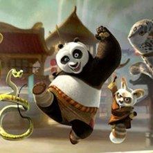 Una immagine di Kung Fu Panda