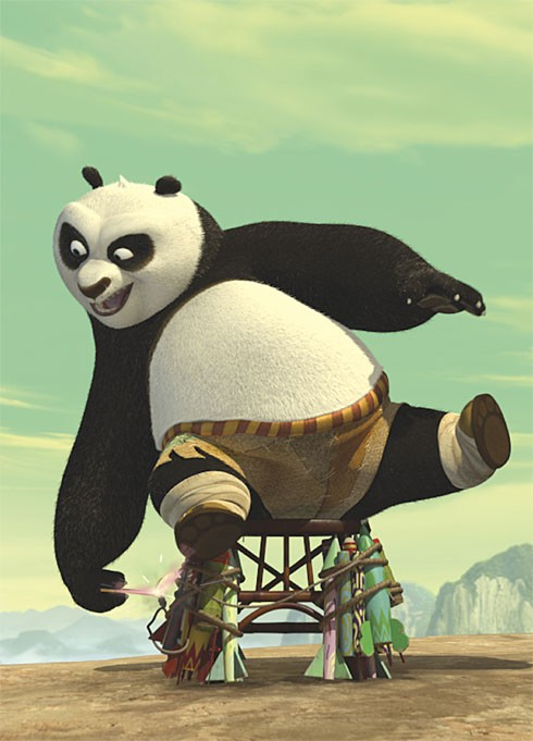 Una Immagine Promo Di Po In Kung Fu Panda 2 212205
