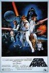 Locandina originale di Star Wars