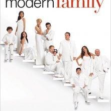 Un poster della stagione 3 di Modern Family