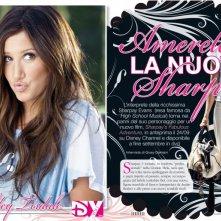 Ashley Tisdale sulle pagine di DYou per presentare il film Sharpay's Fabulous Adventure