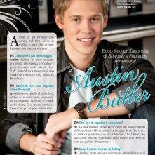 Austin Butler sulle pagine del magazine DYou per presentare il film Sharpay's Fabulous Adventure