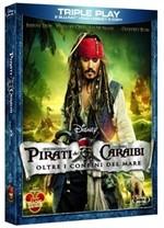 La Copertina Di Pirati Dei Caraibi Oltre I Confini Del Mare Blu Ray 212533