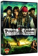 La Copertina Di Pirati Dei Caraibi Oltre I Confini Del Mare Dvd 212532