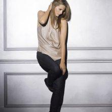 Stana Katic in una foto promozionale della stagione 4 di Castle