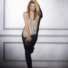Stana Katic in una immagine promozionale della stagione 4 di Castle