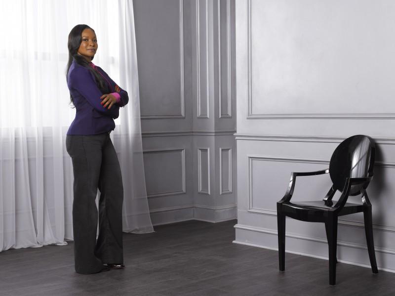 Tamala Jones In Una Foto Promozionale Della Stagione 4 Di Castle 212596