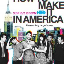 Un poster della stagione 2 di How to Make It in America