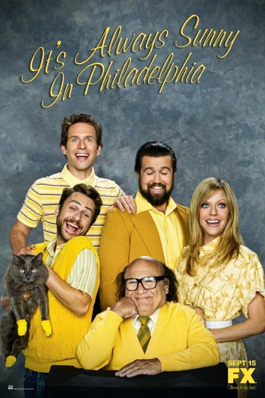 Un Poster Della Stagione 6 Della Serie C E Sempre Il Sole A Philadelphia 212479