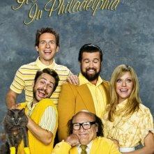 Un poster della stagione 7 della serie C'è sempre il sole a Philadelphia