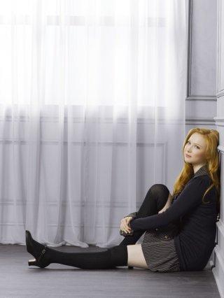 Una foto promozionale di Molly C. Quinn per la stagione 4 di Castle