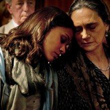 Zoe Saldana con Ofelia Medina nel thriller Colombiana