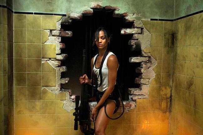 Zoe Saldana In Una Sequenza Dell Action Thriller Colombiana 212656