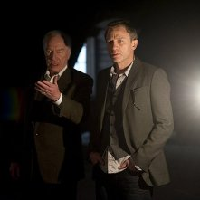 Daniel Craig e Christopher Plummer in una scena di The Girl with the Dragon Tattoo