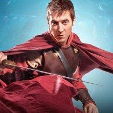 Doctor Who: Arthur Darvill in una foto promozionale dell'episodio A Good Man Goes to War