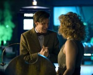 Doctor Who Matt Smith Ed Alex Kingston Nell Episodio A Good Man Goes To War 212815