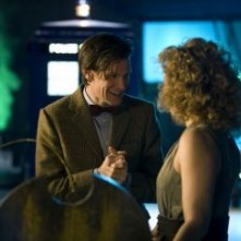Doctor Who: Matt Smith ed Alex Kingston nell'episodio A Good Man Goes to War