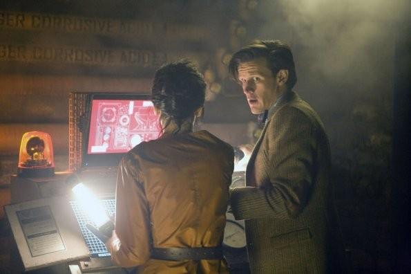 Doctor Who Matt Smith In Una Scena Dell Episodio The Almost People 212816