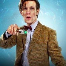 Doctor Who: Matt Smith una foto promozionale dell'episodio A Good Man Goes to War