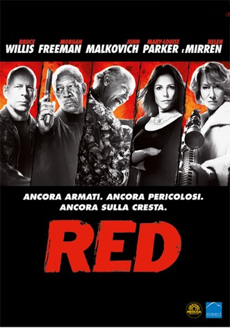 La Copertina Di Red Dvd 212719
