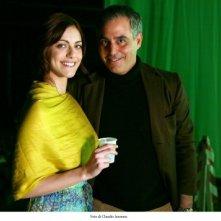 Miriam Leone e Massimiliano La Pegna sul set dello spot ROCCHETTA INTERNATIONAL