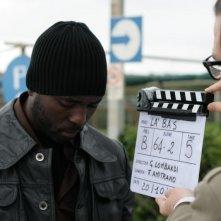 Una immagine dal set di Là-bas (2011)