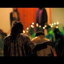 Una sequenza del film Là-bas, incentrato sulla 'Strage di San Gennaro' del 2008