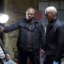 Wayne Pére e IronE Singleton nel film Solo per vendetta