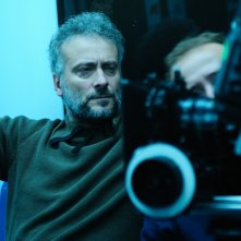 Daniele Gaglianone sul set di Ruggine (2011)