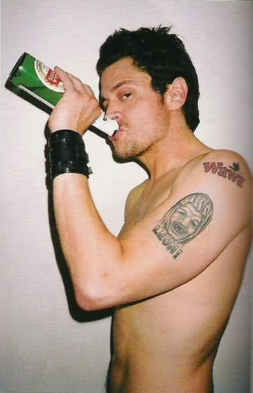 L'attore Johnny Knoxville
