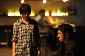 Cut, un'immagine del film di Amir Naderi