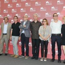 La giuria internazionale di Venezia 2011: David Byrne, Todd Haynes, Darren Aronofsky, Andre Techine, Alba Rohrwacher, Mario Martone, Eija-Liisa Ahtila