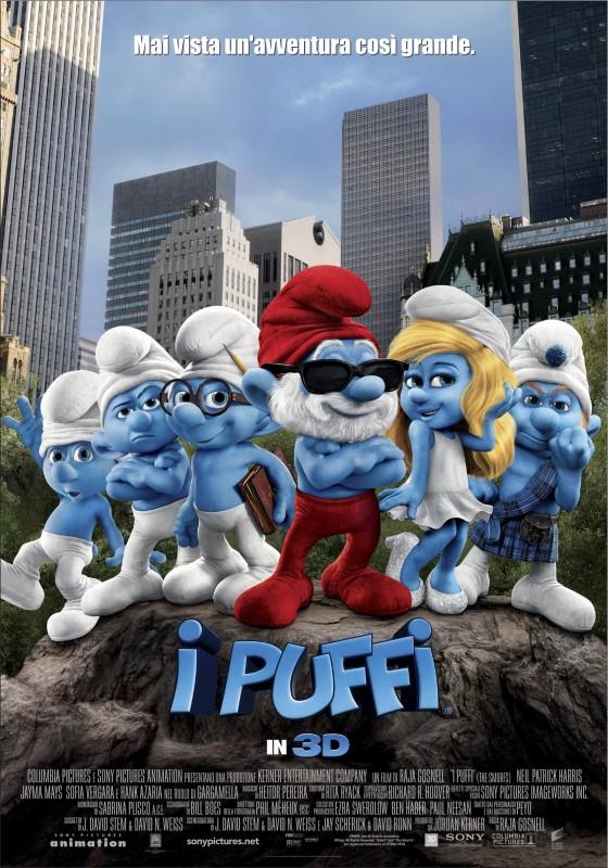 I Puffi Poster Italiano Definitivo Del Film 213043