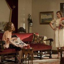 Kate Winslet ed Evan Rachel Wood nella miniserie Mildred Pierce