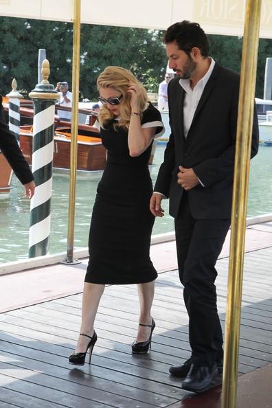 Madonna Arriva In Laguna Con Il Suo Manager Guy Oseary Per Presentare Edward E Wallis 213118