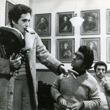 Marco Bellocchio sul set del suo Nel nome del padre (1972)