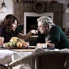 Scialla!: Fabrizio Bentivoglio e Barbora Bobulova in una scena del film