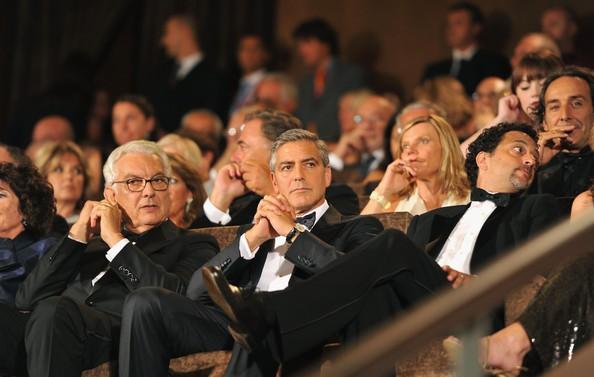 Venezia 2011 George Clooney Autore De Le Idi Di Marzo Durante La Cerimonia D Apertura 213060