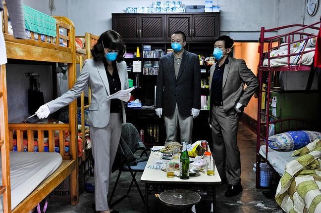 Contagion Marion Cotillard E Chin Han E Sun Feng Nel Film 213248