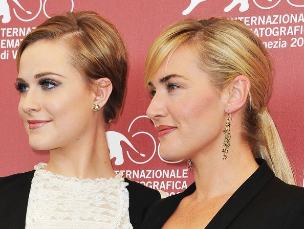 Kate Winslet Presenta Mildred Pierce Con Evan Rachel Wood Alla Mostra Di Venezia Nel 2011 213203