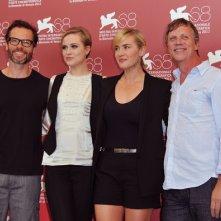 Kate Winslet presenta Mildred Pierce con Evan Rachel Wood, Guy Pearce e Todd Haynes alla Mostra di Venezia nel 2011