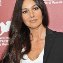 Monica Bellucci presenta il drammatico Un Ete Brulant alla Mostra di Venezia, nel 2011