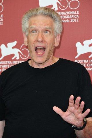 Una buffa espressione di David Cronenberg alla Mostra di Venezia 2011 con A Dangerous Method